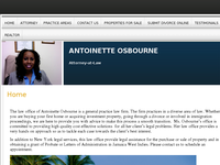 A OSBOURNE website screenshot