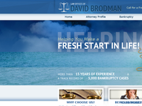 DAVID BRODMAN website screenshot