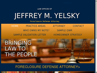 JEROME YELSKY website screenshot