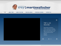 TREY FISCHER III website screenshot