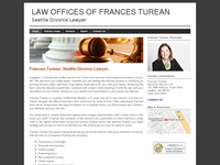 FRANCES TUREAN website screenshot