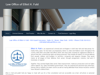 ELLIOT FULD website screenshot
