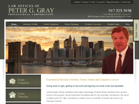 PETER GRAY website screenshot