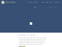 MELANIE GURLEY-KEENEY website screenshot