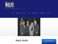 J MATTHEW WOLFE website screenshot