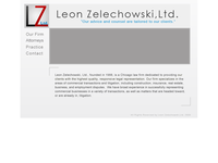 LEON ZELECHOWSKI website screenshot