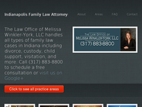 MELISSA WINKLER-YORK website screenshot
