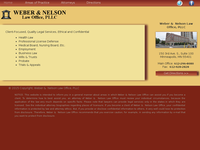 NANCY NELSON website screenshot