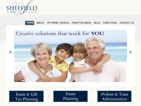 RAYMOND SHEFFIELD website screenshot