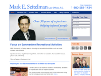 MARK SEITELMAN website screenshot