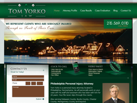 THOMAS YORKO website screenshot