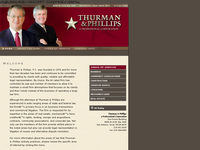 MICHAEL THURMAN website screenshot