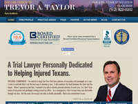 TREVOR TAYLOR website screenshot
