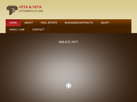 ROSS VETA website screenshot