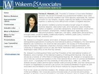 TERESA WAKEEN website screenshot