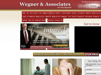 C DENNIS WEGNER website screenshot