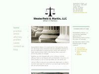 ZACH WESTERFIELD website screenshot