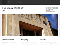 PETER WESTHOFF website screenshot