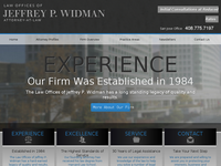JEFFREY WIDMAN website screenshot