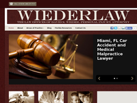 DAVID WIEDER website screenshot