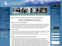 WILLIAM BABICH website screenshot