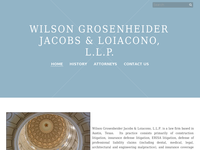 JOHN WILSON website screenshot