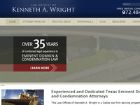 KENNETH WRIGHT website screenshot
