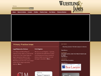 WILLIAM JAMES website screenshot