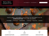 LAWRENCE BAILL website screenshot