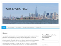 STEVEN YUDIN website screenshot