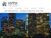 EDWARD ZAPPIA website screenshot