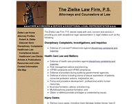 ROBERT ZIELKE website screenshot