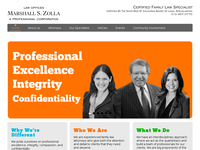 DEBORAH ZOLLA website screenshot