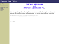 EUGENE ZUSPANN II website screenshot