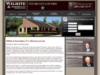 GEORGE WILHITE website screenshot