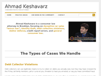 AHMAD KESHAVARZ website screenshot