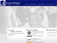 STEVE ALEXANDER website screenshot