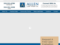 BILL ALLEN website screenshot