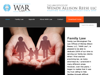WENDY ALLISON REESE website screenshot