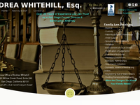 ANDREA WHITEHILL website screenshot