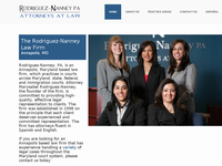 MARYSABEL RODRIGUEZ-NANN website screenshot