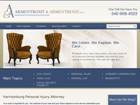 TERRY ARMENTROUT website screenshot