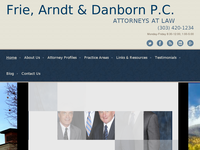 JAMES ARNDT website screenshot