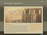 CLARKE ARNOLD website screenshot