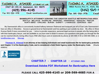 THOMAS ATWOOD website screenshot