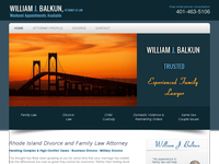WILLIAM BALKUN website screenshot