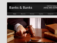 THOMAS BANKS website screenshot