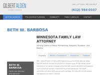 BETH BARBOSA website screenshot
