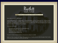 MARVIN BARTLETT website screenshot