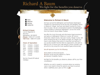 RICHARD BAUM website screenshot